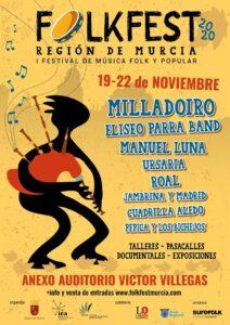 FOLKFEST MURCIA @ Anexo Auditorio Víctor Villegas (Murcia) | Murcia | Región de Murcia | España